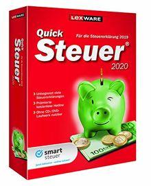 Lexware QuickSteuer 2020 für das Steuerjahr 2019 Minibox Einfache und schnelle Steuererklärungs-Software für Arbeitnehmer, Familien, Vermieter, Studenten und Rentner