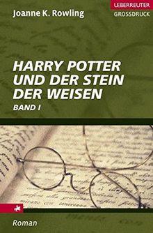 Harry Potter und der Stein der Weisen. Großdruck