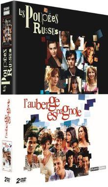 Les Poupées russes / L'Auberge espagnole - Coffret 2 DVD [FR IMPORT]