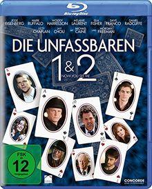 Die Unfassbaren - Now you see me 1&2 [Blu-ray]