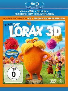 Der Lorax 3D (+ Blu-ray + DVD + Digital Copy) [Blu-ray 3D]