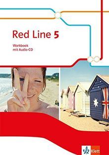 Red Line 5: Workbook mit Audio-CD Klasse 9 (Red Line. Ausgabe ab 2014)