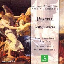 Purcell - Dido & Aeneas / Gnes, Marin-Degor, Brua, Berg, Les Arts Florissants, Christie