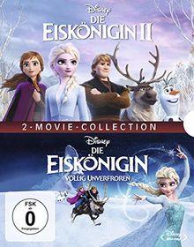 Die Eiskönigin - Völlig unverfroren / Die Eiskönigin 2 [Blu-ray]
