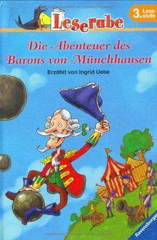 Die Abenteuer des Barons von Münchhausen. 3. Lesestufe