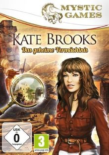 Mystic Games - Kate Brooks: Das geheime Vermächtnis
