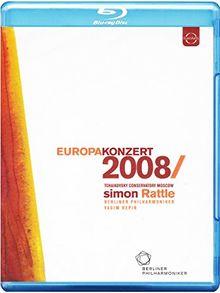 Europakonzert 2008 (Tschaikowski Konservatorium, Moskau) [Blu-ray]