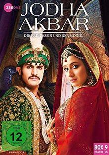 Jodha Akbar - Die Prinzessin und der Mogul (Box 9, Folge 113-126) [3 DVDs]