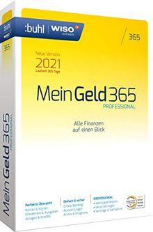 WISO Mein Geld Professional 365 (aktuelle Version 2021)|1 Gerät|1 Jahr|PC (WISO Software)