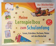 Meine Lernspielbox zum Schulanfang: Lesen, Schreiben, Rechnen, Malen mit dem Bücherbär