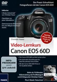 Canon EOS 60D - Videolernkurs (PC+MAC)