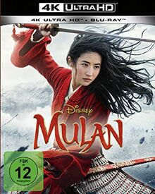 Mulan 4K UHD (Live-Action) [Blu-ray]