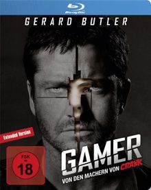 Gamer - Extended Version [Limited Edition] [Blu-ray]
