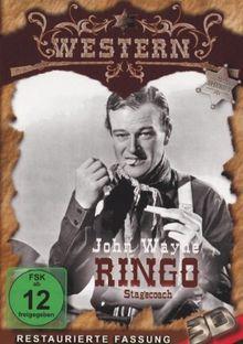 JOHN WAYNE - Ringo / Stagecoach (3D-Version)