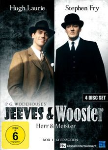 Jeeves and Wooster: Herr und Meister - Box 1, Episoden 01-13 (4 Disc Set)