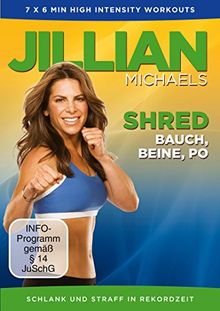Jillian Michaels - Shred: Bauch, Beine, Po