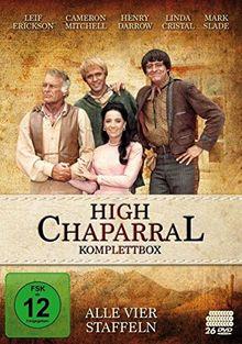 High Chaparral - Komplettbox: Alle vier Staffeln [26 DVDs]