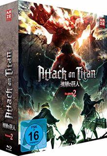 Attack on Titan - 2. Staffel - BR 1 mit Sammelschuber (Limited Edition) [Blu-ray]