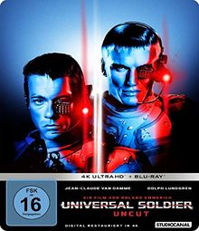 Universal Soldier / Uncut / Limited SteelBook Edition (4K Ultra HD) (+ BR2D) [Blu-ray]