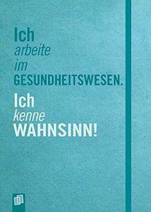 Das Notizbuch für die Alten- und Krankenpflege: Hardcover, 112 S., A5,mit Punkteraster, Perforation, Lesebändchen und Verschlussgummi