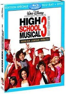 High School Musical 3 : nos années Lycée - Version longue inédite [Blu-ray]