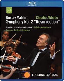 Gustav Mahler - Symphonie Nr. 2/Resurrection [Blu-ray]
