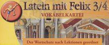 Latein mit Felix, Bd.3/4 : Vokabelkartei, Lernbox