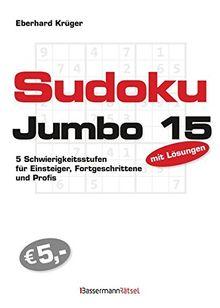 Sudokujumbo 15: 5 Schwierigkeitsstufen - für Einsteiger, Fortgeschrittene und Profis
