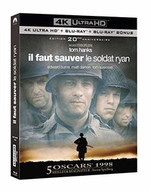 Il faut sauver le soldat Ryan [4K Ultra HD + Blu-ray + Blu-ray bonus - Édition 20ème anniversaire]