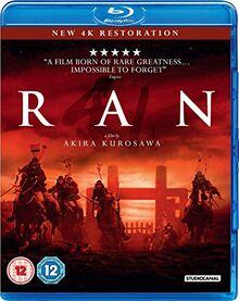 Ran (Digitally Restored) [Blu-ray] [2016] UK-Import, Sprache-Englisch.