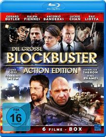 Die grosse Blockbuster Action Edition (6 Action-Filme Edition) [2 Blu-ray's]
