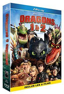 Coffret dragons : dragons ; dragons 2 [Blu-ray] [FR Import]