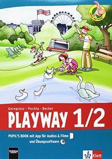 Playway. Für den Beginn ab Klasse 1 / Pupil's Book mit App für Filme&Audios und CD-ROM 1.-2. Schuljahr