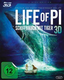 Life of Pi - Schiffbruch mit Tiger (+ BR) [3D Blu-ray]