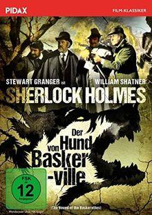 Sherlock Holmes: Der Hund von Baskerville (The Hound of the Baskervilles) / Spannende Sherlock-Holmes-Verfilmung mit Stewart Granger und William Shatner (Pidax Film-Klassiker)