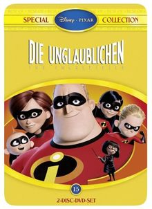 Die Unglaublichen - The Incredibles (Best of Special Collection, Steelbook) [Special Edition] [2 DVDs]