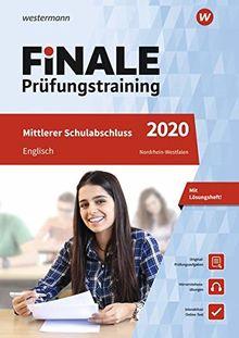 FiNALE - Prüfungstraining Mittlerer Schulabschluss Nordrhein-Westfalen: Englisch 2020 Arbeitsbuch mit Lösungsheft und Audio-CD