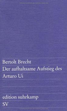 Der aufhaltsame Aufstieg des Arturo Ui (edition suhrkamp)