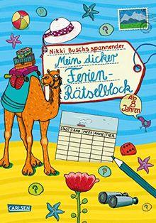 Mein dicker Ferien-Rätselblock: Band 7