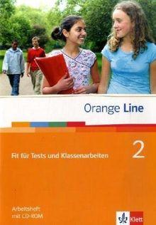 Orange Line 2. 6. Klasse - Fit für Tests und Klassenarbeiten: Buch und CD-ROM mit Lösungsheft. Vorber. auf Kompetenztests, Standardprüf., Vergleichsarb. u Lernstandserhebungen