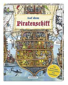 Auf dem Piratenschiff: Mit großartigen Panoramabildern zum Ausklappen