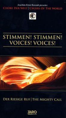Stimmen! Stimmen!; Voices! Voices!, 3 CD-Audio