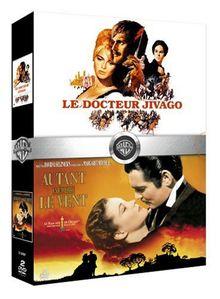 Coffret Drames historiques 2 DVD : Autant en emporte le vent / Le Docteur Jivago