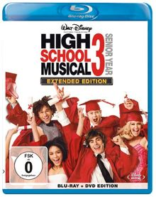 High School Musical 3: Senior Year - Extended Edition (+ DVD) [Blu-ray]