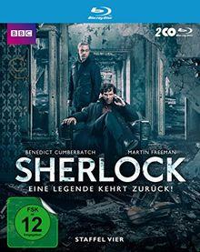 Sherlock - Staffel 4 (exklusiv bei Amazon.de) [Blu-ray] [Limited Edition]