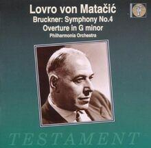 Sinfonie 4 / Ouvertüre G-Moll