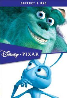 Coffret Pixar 2 DVD : Monstres & Cie / 1001 Pattes [FR Import]
