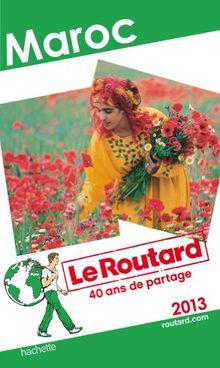Le Routard Maroc 2013