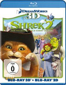 Shrek 2 - Der tollkühne Held kehrt zurück (+ Blu-ray 3D) [Blu-ray]