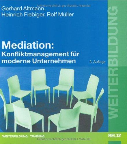 Weiterbildung Konfliktmanagement